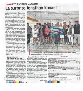 Photo article tournoi club 2015